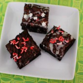 peppermint-brownies