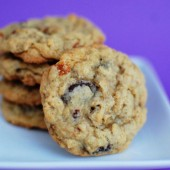 Oatmeal Chocolate Cinnamon Chip Cookies