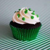 Pot-of-Gold Cupcakes