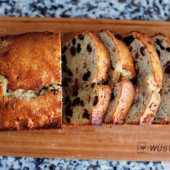 Cranberry Raisin Almond Banana Bread