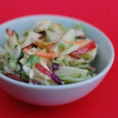 Crunchy Apple Slaw