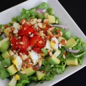 Avocado Egg Apple Salad