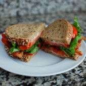 BLTs with Homemade Mayo