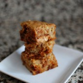 honey-peanut-butter-banana-cinnamon-blondies