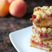 Strawberry Peach Basil Bars