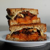 The Perfect Fall Grilled Cheese Sandwich