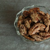 Candied Vanilla Pecan