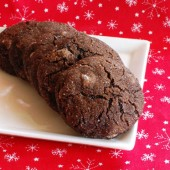 Chewy Chocolate Ginger Cookies