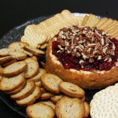Cranberry Cheesecake Spread