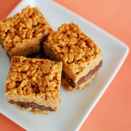 Amped Up Rice Krispies Treats