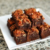 Bacon Bourbon Brownies