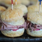 Mini Roast Beef Sandwiches