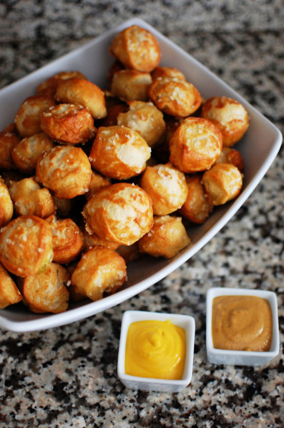 Mini Soft Pretzel Bites Recipe — Dishmaps