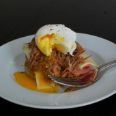 Cuban Sandwich Eggs Benedict