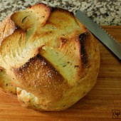 Herbed Bread Baked in a Dutch Oven