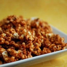 Peanut Butter Caramel Corn