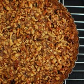 Rustic Walnut Tart