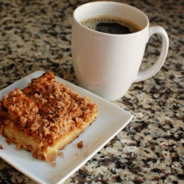 Rhubarb Coffee Cake