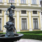 Perseus statue at the Munich Residenz