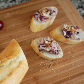 Date, Cherry, Goat Cheese Spread