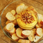 Butternut Squash, Goat Cheese, and Walnut Dip