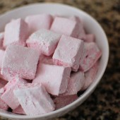 Pink Raspberry Marshmallows