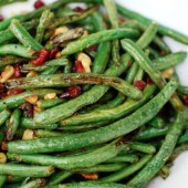 Roasted Green Beans with Cr