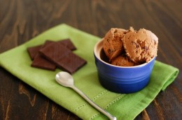 Chocolate Chocolate Chunk Goat Milk Ice Cream