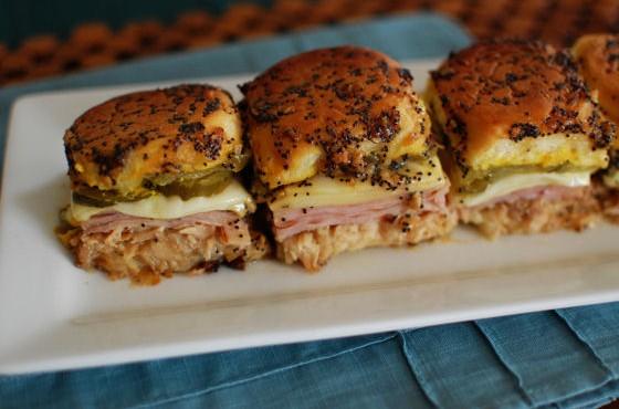 Cuban Sandwich Sliders