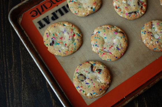 Funfetti Chocolate Chip Cookies