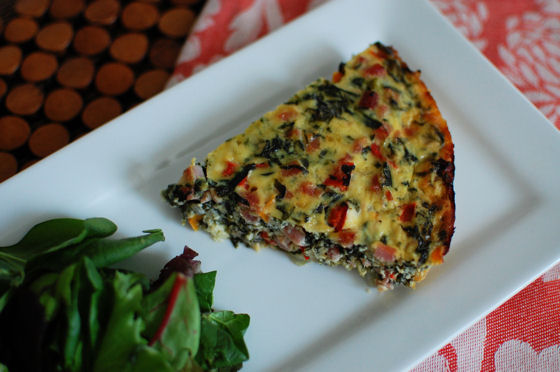 Fried Garlic, Spinach And Goat Cheese Quiche Recipes — Dishmaps