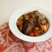 Lamb and Guinness Stew