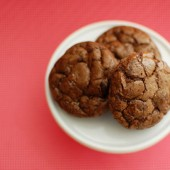 Salted Truffle Cookies