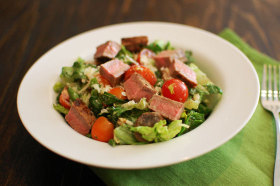Steak Peppercorn Salad