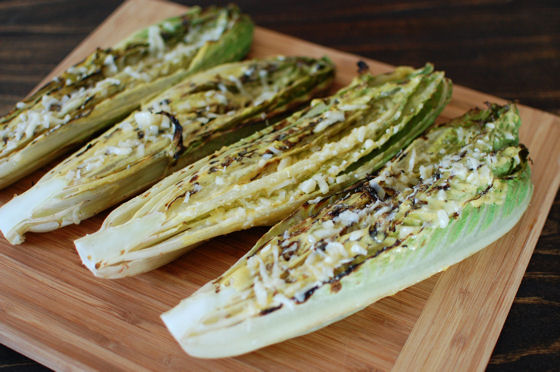 Grilled Caesar Salad | Beantown Baker