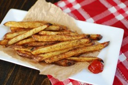 Crisy Baked Seasoned French Fries