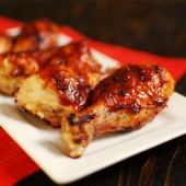 Bourbon Orange Coriander BBQ Chicken