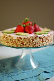 Strawberry Margarita Pie