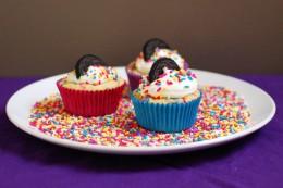 Funfetti Oreo Cupcakes