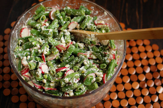 Sugar Snap Pea Salad | Beantown Baker