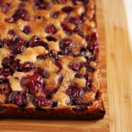 Browned Butter Cherry Bars