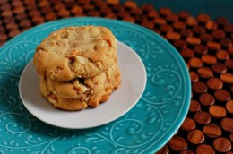 Butterscotch Coconut Toffee Cookies