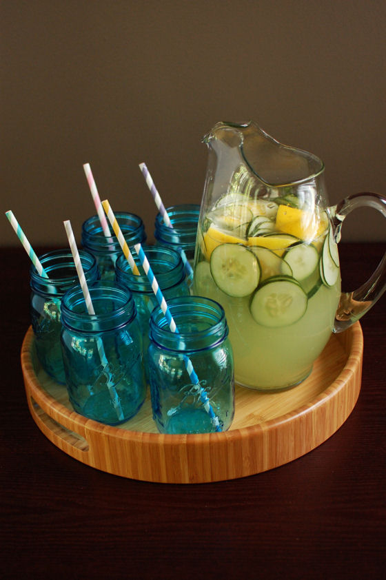 Cucumber Lemonade Cocktail