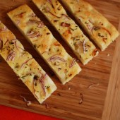 Onion Focaccia with Rosemary