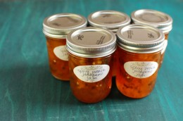 Spicy Peach Jam