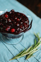 Fig and Port Cranberry Sauce