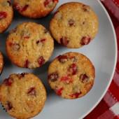 Cranberry Cardamom Muffins