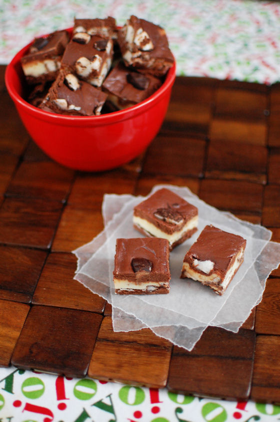 Peppermint Patty Fudge