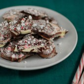Swirled Peppermint Bark