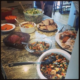 Thanksgiving Meal at the Beantown Baker House